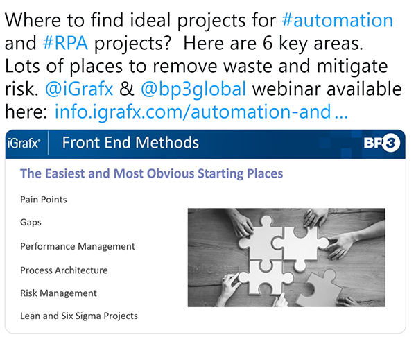 Webinar: Automation & RPA Project Identification, Assessment