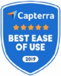 Capterra Best Ease of Use award
