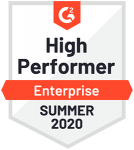 G2 High Performer Summer 2020