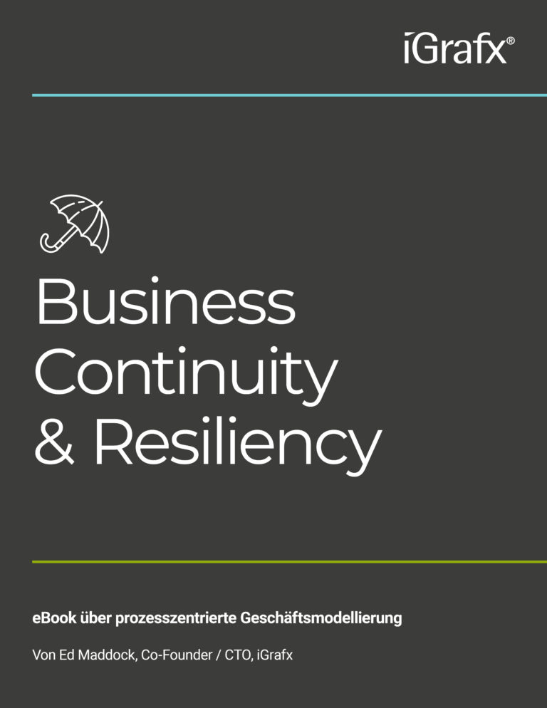 Durch Prozessmanagement mit iGrafx betriebliche Kontinuität sichern